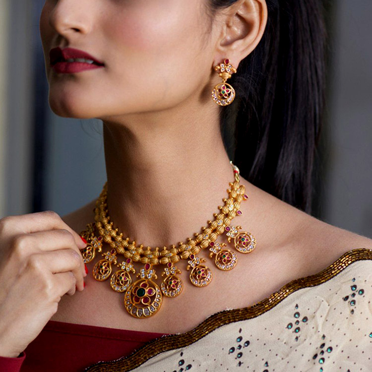 Floral-Designed Jewellery