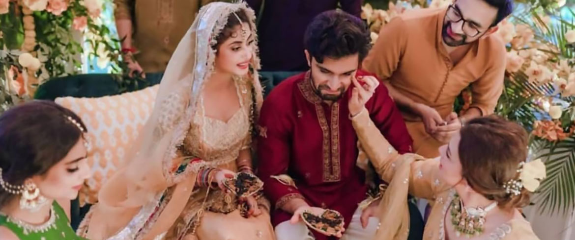 Sajal Aly and Ahad Raza Mir Mehndi: Glimpses of Graceful Event - Pak Cheers - Wedding Services Provider - Blog